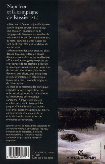 Napoléon et la campagne de Russie, 1812