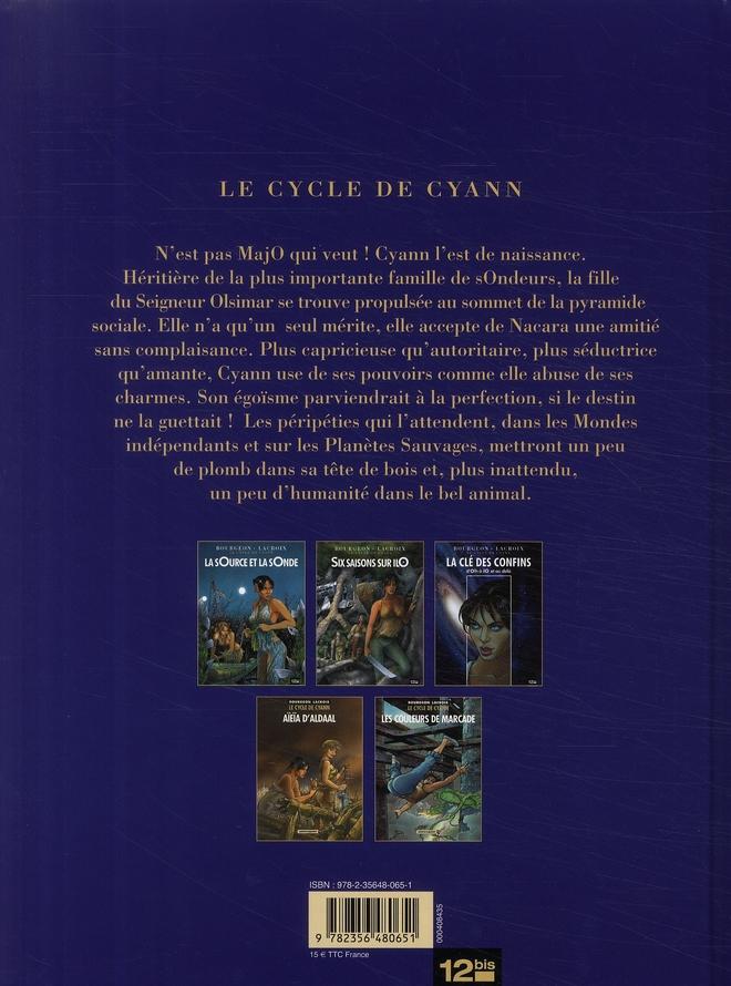 Le cycle de Cyann HORS-SERIE ; la clé des confins