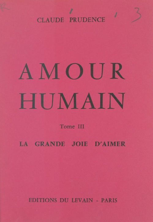 Amour humain (3)