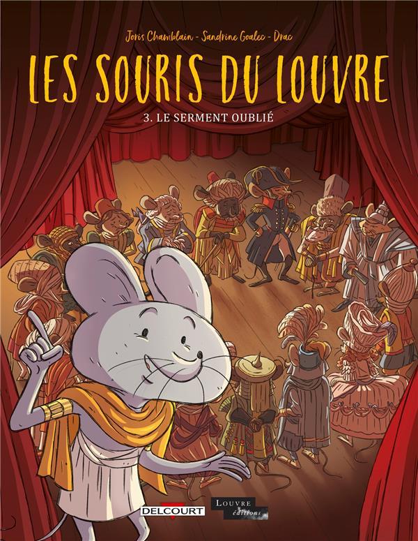Les souris du Louvre T.3 ; le serment oublié