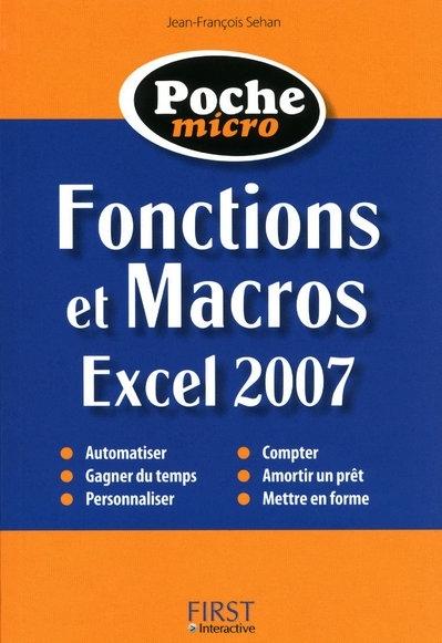 fonctions et macros ; Excel 2007