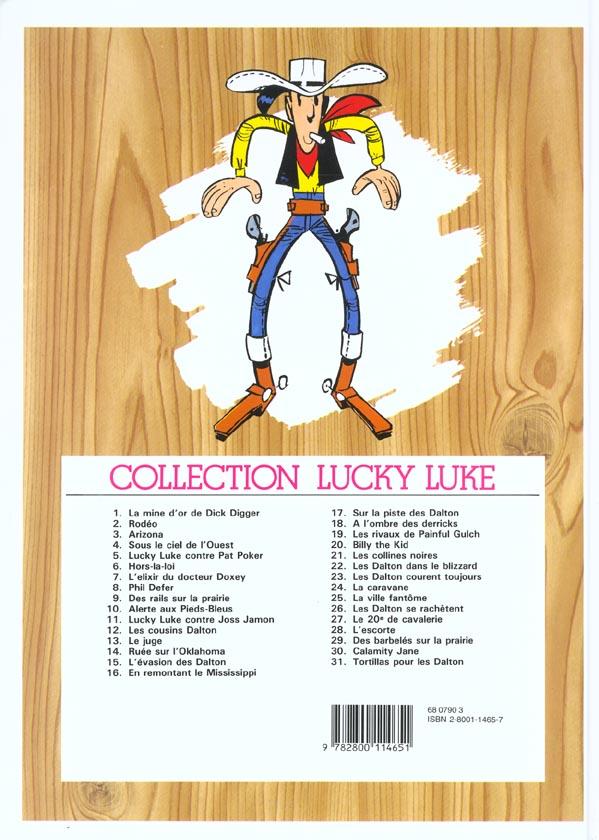 Lucky Luke T.25 ; la ville fantôme