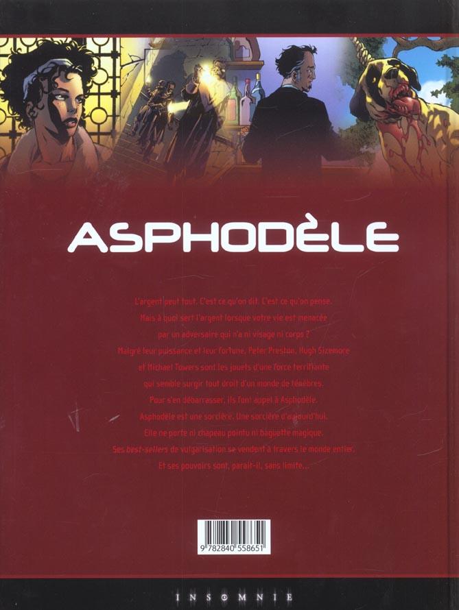 Asphodèle t.1 ; le preneur d'âmes