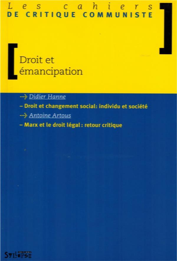Droit et emancipation