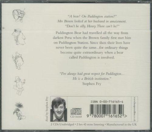 A bear called paddington - read by stephen fry