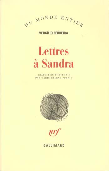 Lettres a sandra