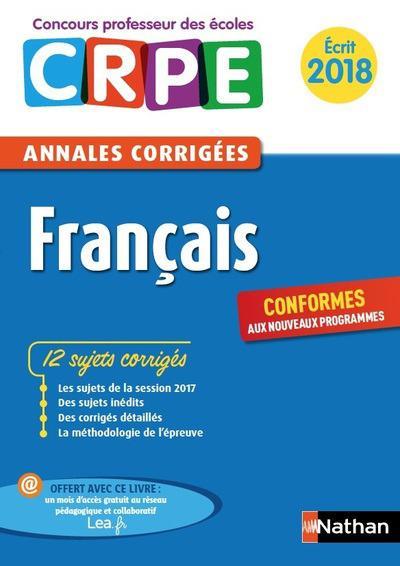 Francais ; cycle 1 ; écrit (édition 2018)