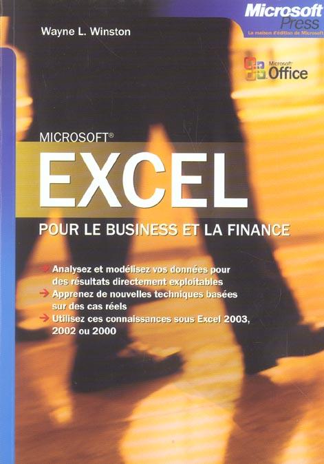 Excel Pour Le Business Et La Finance