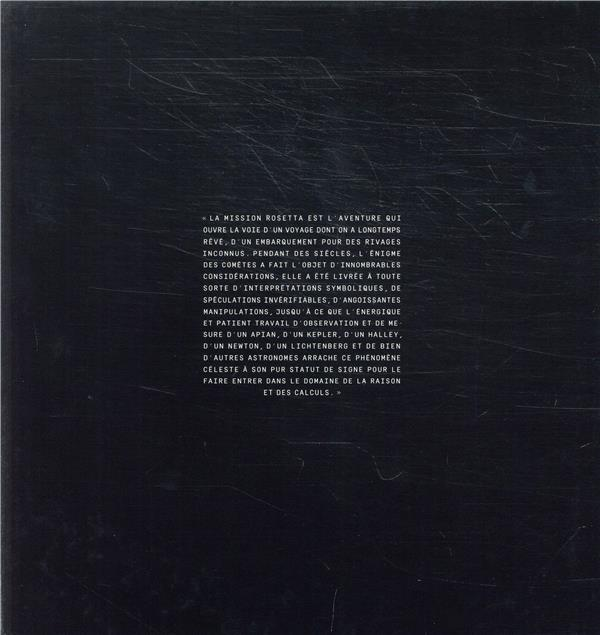 La comète ; le voyage de Rosetta