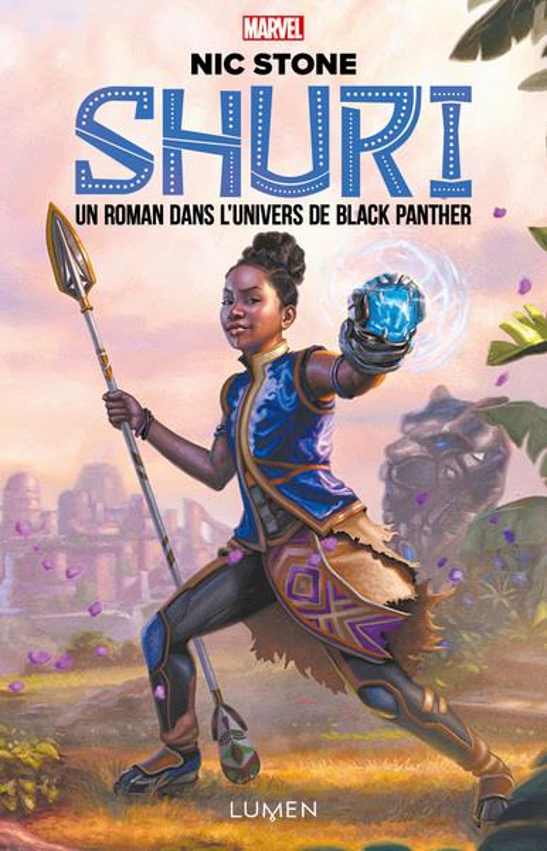 Vente EBooks : Shuri - tome 1 Un roman dans l'univers de Black Panther  - Nick Stone  - Nic Stone