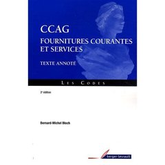 Ccag Fournitures Et Services Texte Annote 2e Edition