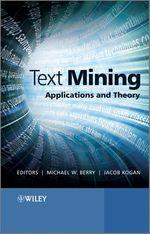 Text Mining  - Michael W. Berry - Jacob Kogan