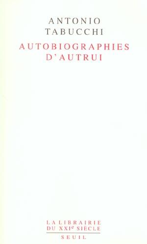 Autobiographies d'autrui