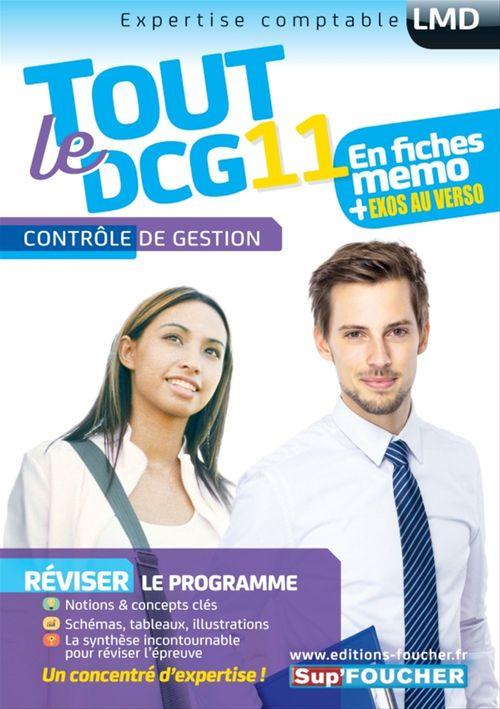 Vente Livre Numérique : Tout le DCG 11 ; contrôle de gestion  - Alain Burlaud  - Eric Margotteau