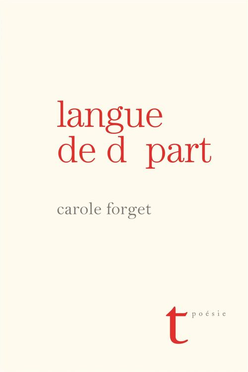 langue de depart