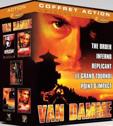 Van Damme - Coffret 5 DVD