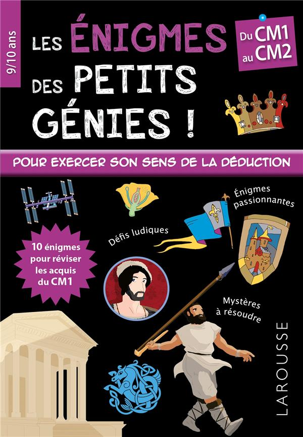 LES ENIGMES DES PETITS GENIES CM1 VIARDS, STEPHANIE
