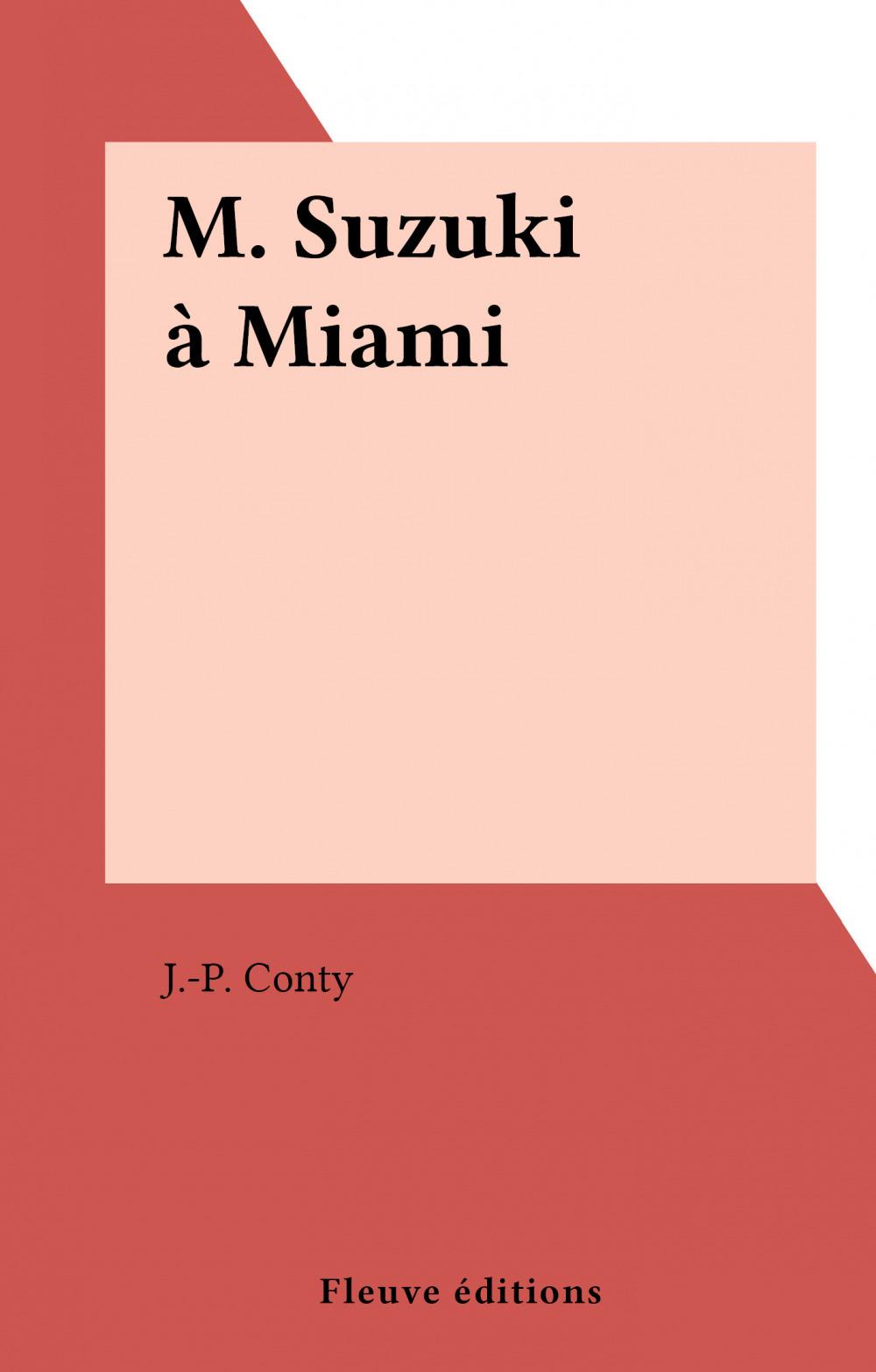 M. Suzuki à Miami