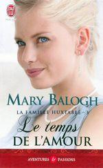 Vente Livre Numérique : La famille Huxtable (Tome 3) - Le temps de l'amour  - Mary Balogh
