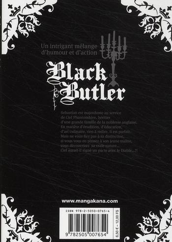 black butler t.1