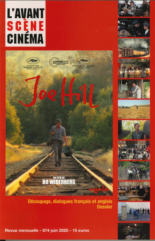 L'avant-scene cinema n 674 joe hill - jun 2020