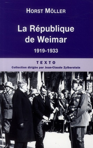 La Republique De Weimar 1919-1933