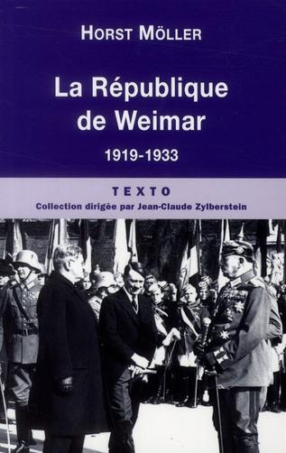 La république de Weimar 1919-1933