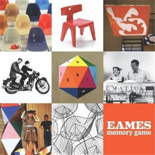 Charles And Ray Eames Memory Game