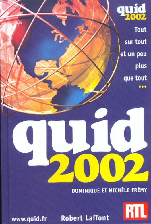 Quid ; edition 2002