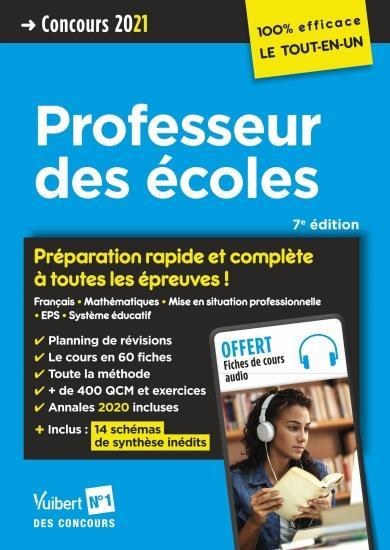 CRPE ; concours professeur des ecoles - preparation rapide et complete a toute (édition 2021)