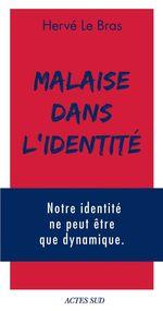 Vente EBooks : Malaise dans l'identité  - Hervé LE BRAS