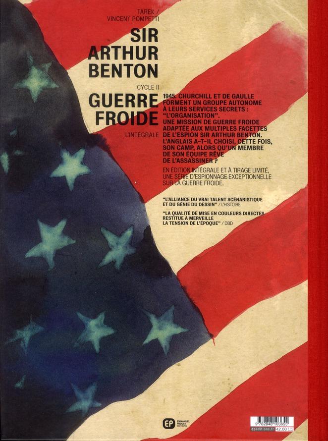 Sir Arthur Benton - cycle 2 ; Intégrale t.1 à t.3 ; guerre froide