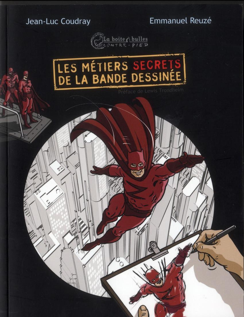Les métiers secrets de la bande dessinée