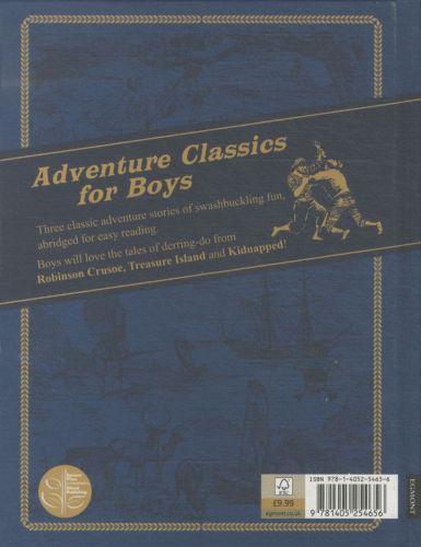 Adventures Classics for Boys