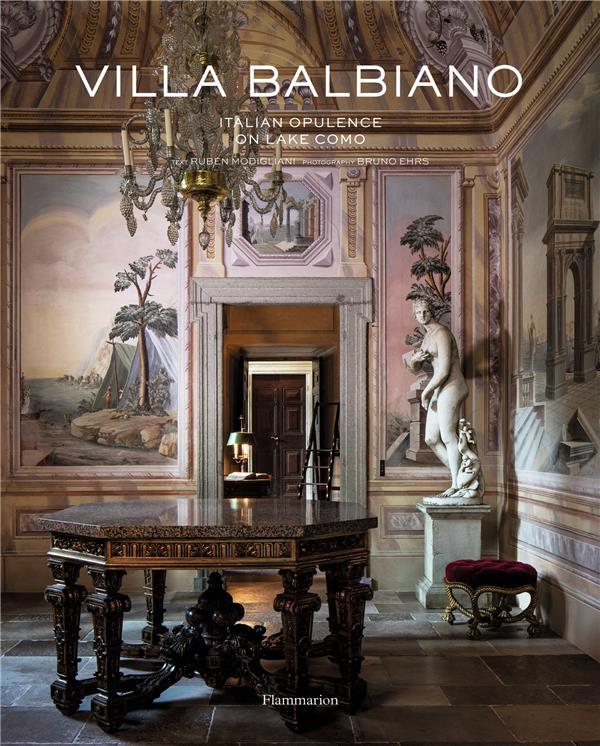 Villa Balbiano ; italian opulence on lake Como