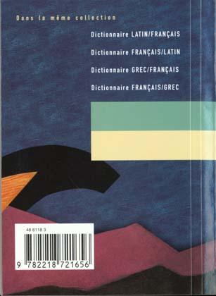 dictionnaire latin / français