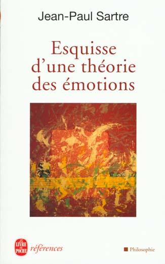 Esquisse D'Une Theorie Des Emotions