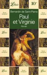 Couverture de Paul et virginie - - roman