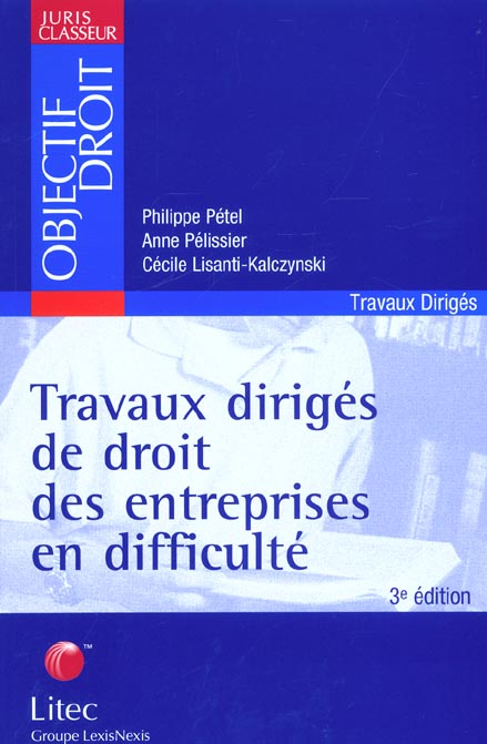 Travaux Diriges De Droit Des Entreprisesen Difficulte