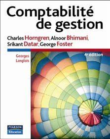 Comptabilite De Gestion 4e Ed.