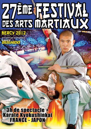 27ème festival des arts martiaux Paris Bercy 2012