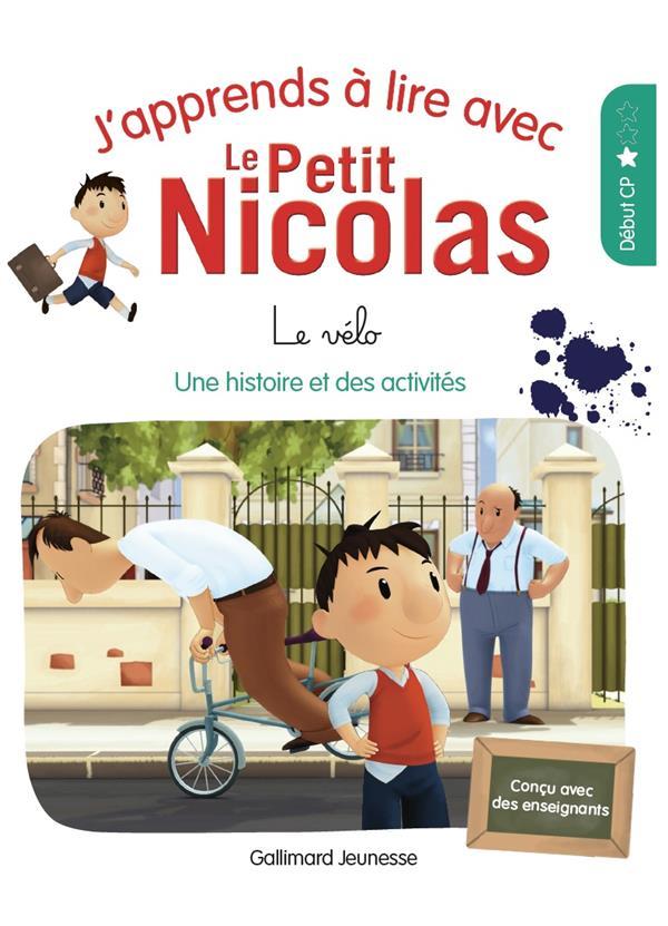 J'apprends à lire avec Le Petit Nicolas t.3 ; papa m'offre un vélo