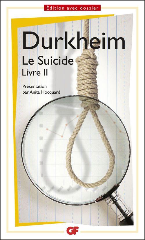 Le suicide, livre II