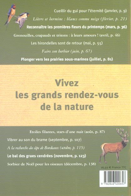 Almanach de la nature