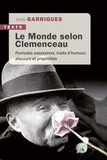 Vente Livre Numérique : Le Monde selon Clemenceau  - Jean Garrigues