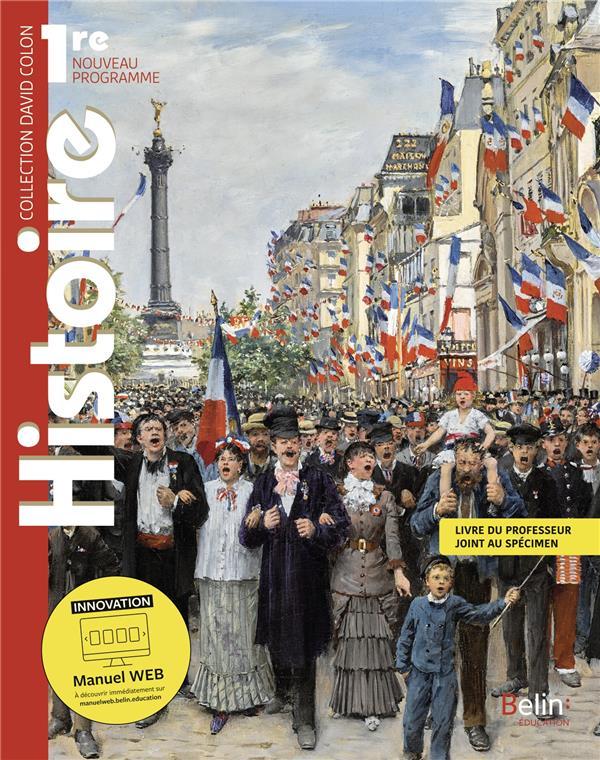 Histoire 1ère ; manuel élève (édition 2019)