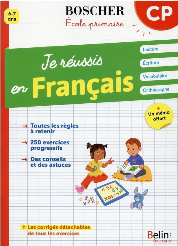je réussis en français CP