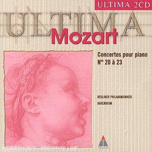 Concertos Pour Piano N 20 A 23