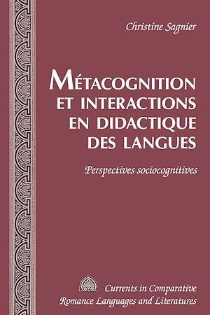 Metacognition et interactions en didactique des langues