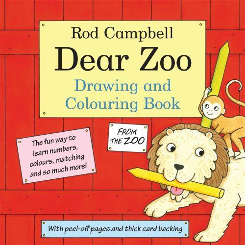 THE DEAR ZOO - DRAWING AND COLOURING BOOK